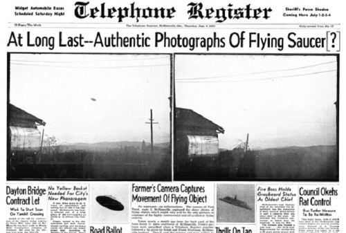 Самые таинственные встречи с НЛО и самые бессовестные мистификации.