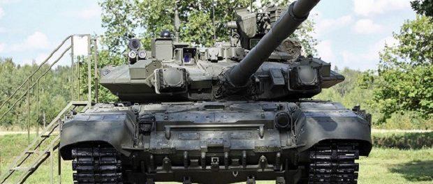Российский танк Т-90 вошел впятерку мощнейших танков мира