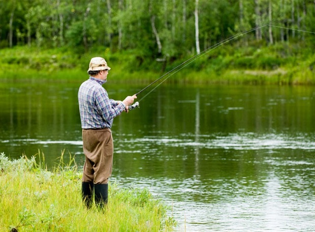 рыбалка у берига